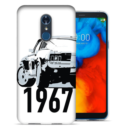 LG Stylo 4 1967 Ford Mustang Design TPU Gel Phone Case Cover