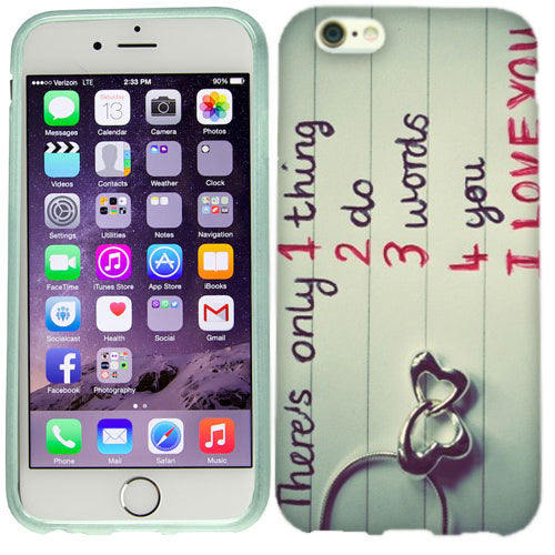 Apple iPhone 6s I Love You Case Cover