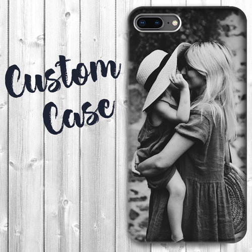 Personalized Apple iPhone 7 / 8 Case - Custom Photo Image Phone Cover Add Your Own Image Picture