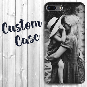 Personalized Apple iPhone 7/8/SE Case - Custom Photo Image Phone Cover Add Your Own Image Picture