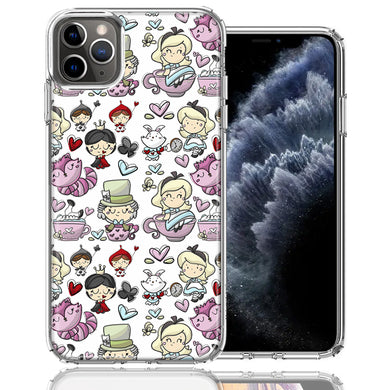 Apple iPhone 11 Pro Wonderland Design Double Layer Phone Case Cover