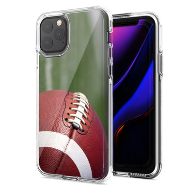 Apple iPhone 12 Mini Football Design Double Layer Phone Case Cover