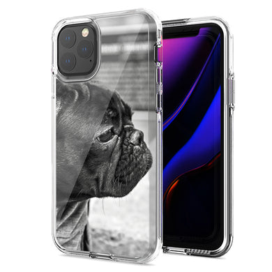 Apple iPhone 12 Mini French Bulldog Design Double Layer Phone Case Cover