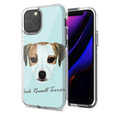 Apple iPhone 11 Jack Russell Design Double Layer Phone Case Cover