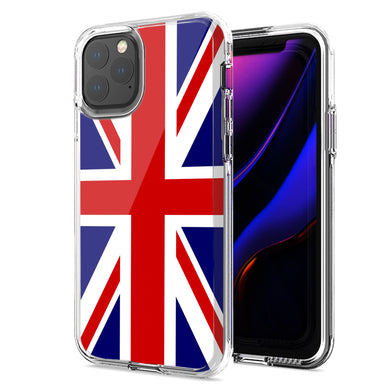 Apple iPhone 11 UK England British Flag Design Double Layer Phone Case Cover