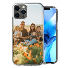 "Load image into Gallery viewer, Personalized Apple iPhone 12 Pro 6.1"" Case Custom Photo Image Phone Cover Add Your Own Pictures Logos"