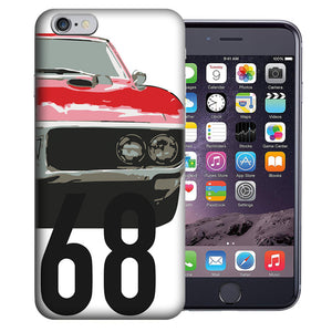 "Apple iPhone 7 & iPhone 8 4.7"" 1968 Firebird Design TPU Gel Phone Case Cover"