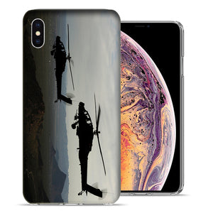 Apple iPhone XS Max 6.5 inch Black Hawk Case Cover Cover