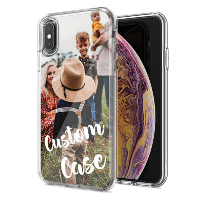 Personalized Apple iPhone Xs and X Case Custom Photo Image Phone Cover