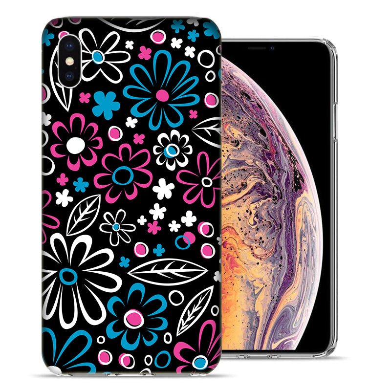 Apple iPhone XR 6.1 inch Cute Daisies Design TPU Gel Phone Case Cover