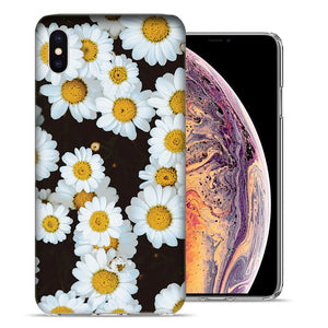 Apple iPhone XR 6.1 inch Cute Daisy Flower Design TPU Gel Phone Case Cover