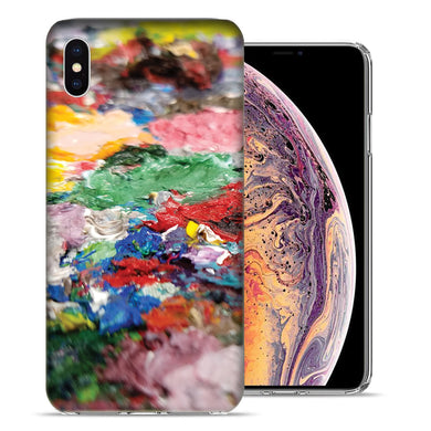 Apple iPhone XS And X Pallette2 Design TPU Gel Phone Case Cover
