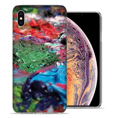 Apple iPhone XS And X Pallette Design TPU Gel Phone Case Cover