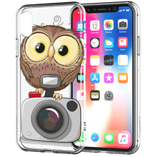 Load image into Gallery viewer, Apple iPhone XR Baby Owl Camera Phone Cover Cases