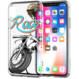 Apple iPhone XR Cafe Racer Bike Phone Cover Cases