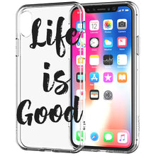 Load image into Gallery viewer, Apple iPhone XR Life Is Good Quote Phone Cover Cases