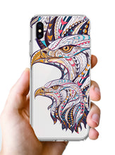 Load image into Gallery viewer, Apple iPhone XR Mosaic Colorful Bald Eagles Phone Cover Cases