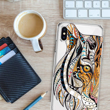 Load image into Gallery viewer, Apple iPhone XR Tiger Mosaic Tiles Phone Cover Cases