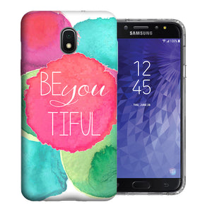 Samsung Galaxy J3 J337 2018 Be You Beautiful Design TPU Gel Phone Case Cover