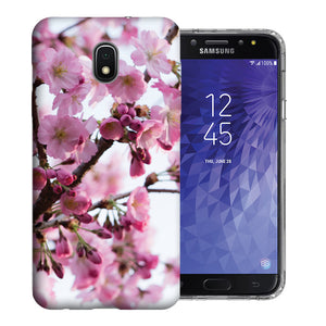 Samsung Galaxy J3 J337 2018 Cherryblossom Design TPU Gel Phone Case Cover
