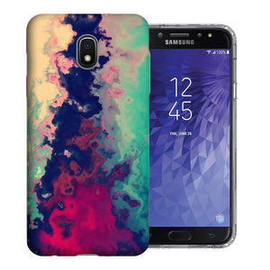 Samsung Galaxy J3 Achieve/ Express Prime 3/ Amp Prime 3 2018 Watercolor Paint Design TPU Gel Phone Case Cover