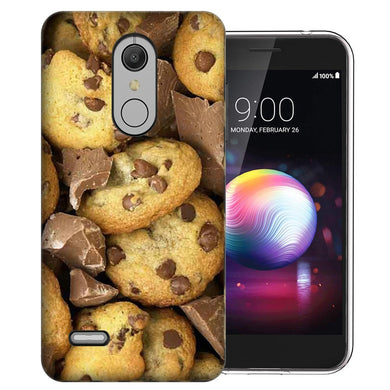 MUNDAZE LG Stylo 5 Chocolate Chip Cookies Design Phone Case Cover
