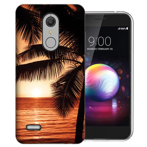 MUNDAZE LG Stylo 5 Paradise Sunset Design Phone Case Cover