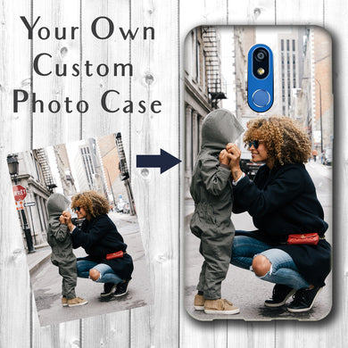 Personalized LG K40/Harmony 3 Case Custom Photo Image Phone Cover