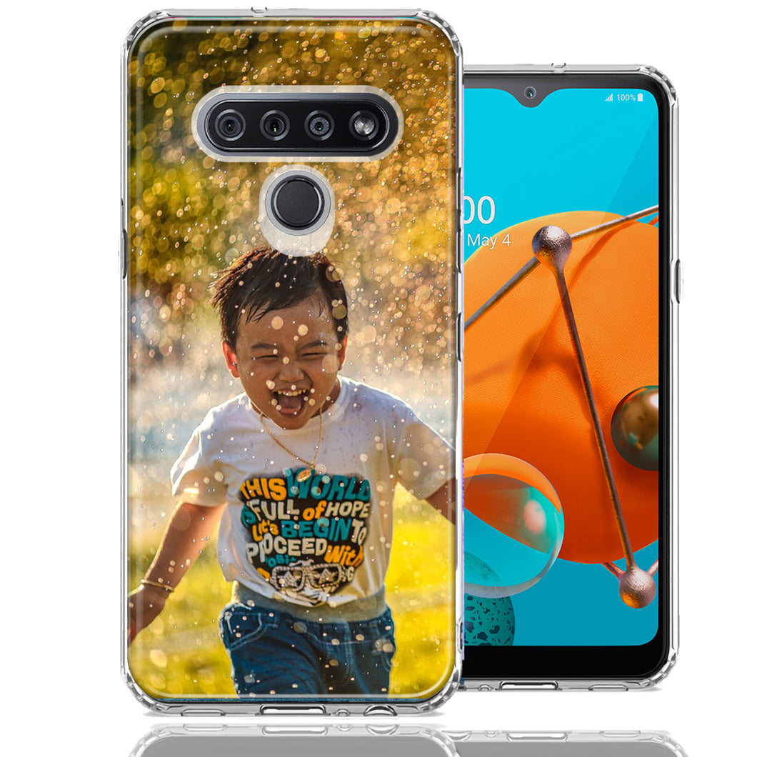 Personalized LG K51 Case Custom Photo Image Phone Cover
