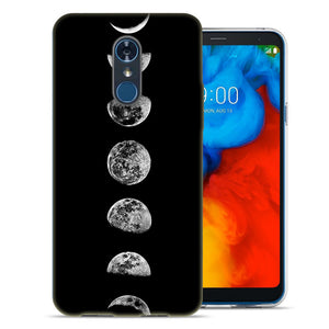 LG Stylo 4 Moon Transitions Design TPU Gel Phone Case Cover