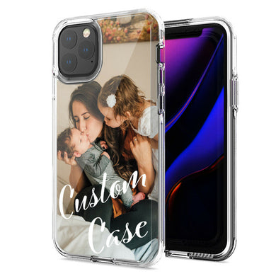 Personalized Apple iPhone 11 Pro Max Case Custom Photo Image Phone Cover Add Your Promotional Company Logo
