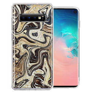 Samsung Galaxy S10 Plus Snake Abstract Design Double Layer Phone Case Cover