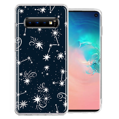 Samsung Galaxy S10 Plus Stargazing Design Double Layer Phone Case Cover