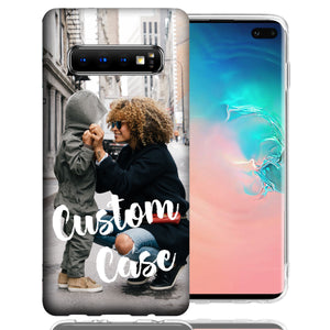 Personalized Samsung Galaxy S10 Plus Case Custom Photo Image Phone Cover