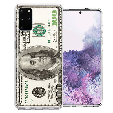 Samsung Galaxy S20 Benjamin $100 Bill Design Double Layer Phone Case Cover