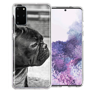 Samsung Galaxy S20 French Bulldog Design Double Layer Phone Case Cover