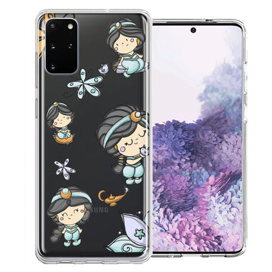 Samsung Galaxy S20 Plus Princess Design Double Layer Phone Case Cover