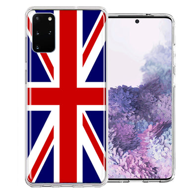 Samsung Galaxy S20 UK England British Flag Design Double Layer Phone Case Cover