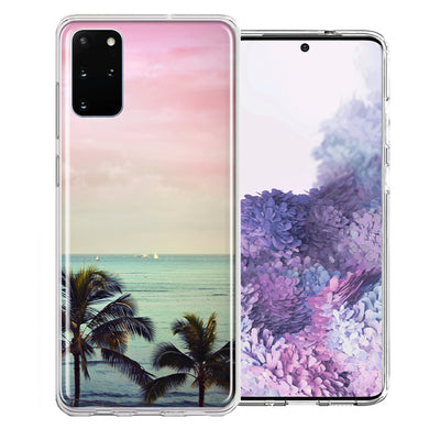 Samsung Galaxy S20 Plus Vacation Dreaming Design Double Layer Phone Case Cover