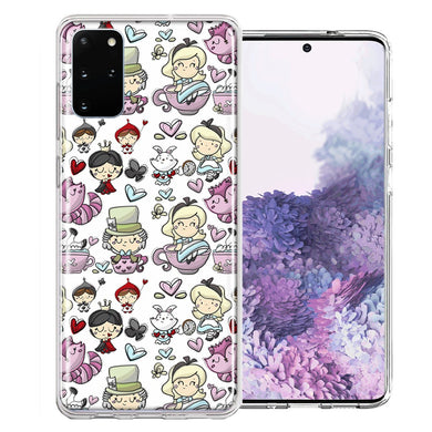 Samsung Galaxy S20 Plus Wonderland Design Double Layer Phone Case Cover