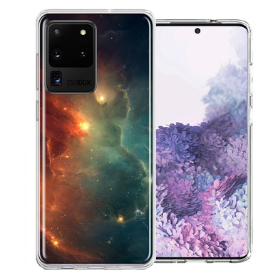 Samsung Galaxy S20 Ultra Nebula Design Double Layer Phone Case Cover