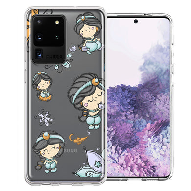 Samsung Galaxy S20 Ultra Princess Design Double Layer Phone Case Cover