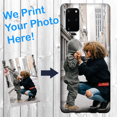 Personalized Samsung Galaxy S20 Case Custom Photo Image Phone Cover