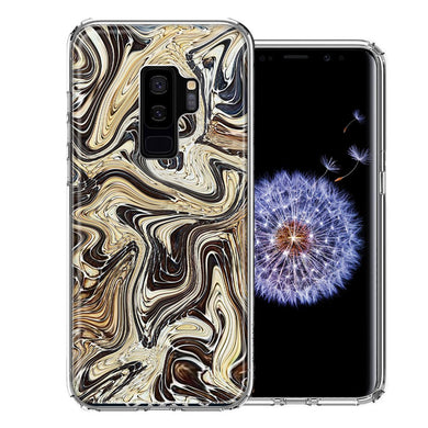 Samsung Galaxy S9 Plus Snake Abstract Design Double Layer Phone Case Cover