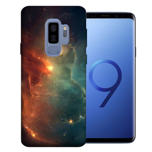 Samsung Galaxy S9 Plus Nebula Design TPU Gel Phone Case Cover