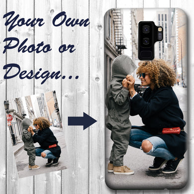 Personalized Samsung Galaxy S9 Plus Case Custom Photo Image Phone Cover
