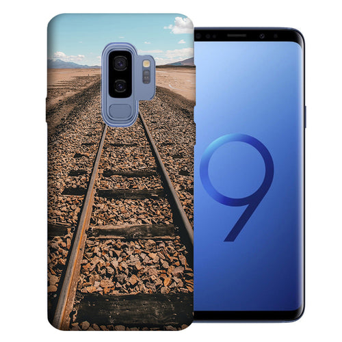 Samsung Galaxy S9 Plus Railroad Tracks Design TPU Gel Phone Case Cover
