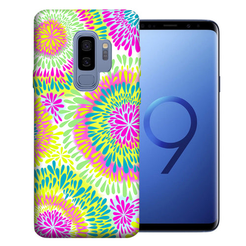 Samsung Galaxy S9 Plus Tie Dye Tears Design TPU Gel Phone Case Cover