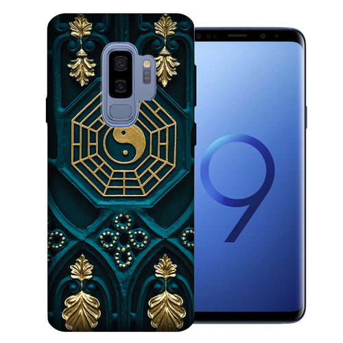 Samsung Galaxy S9 Plus Yin Yang Design TPU Gel Phone Case Cover