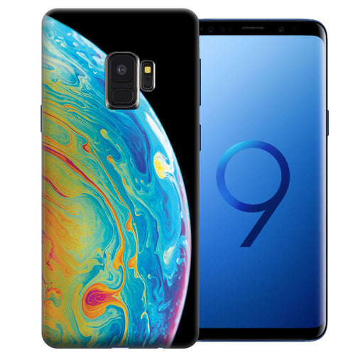 Samsung Galaxy S9 Soap Bubble Design TPU Gel Phone Case Cover